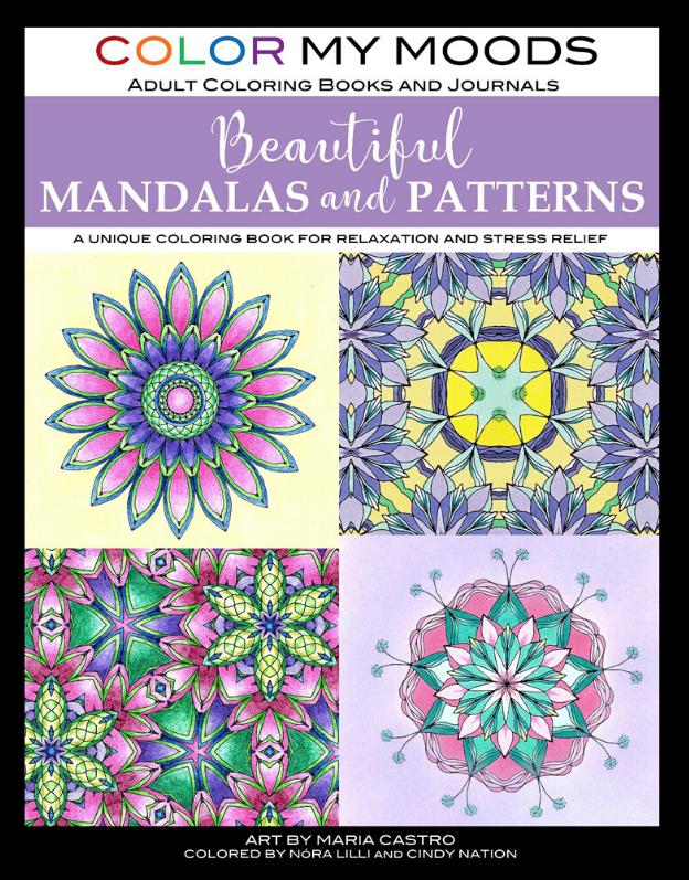 Color My Moods Beautiful Mandalas and Patterns